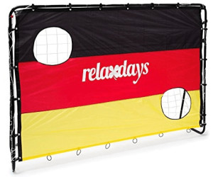 relaxdays fu balltor mit torwand ab 29 90 preisvergleich bei. Black Bedroom Furniture Sets. Home Design Ideas