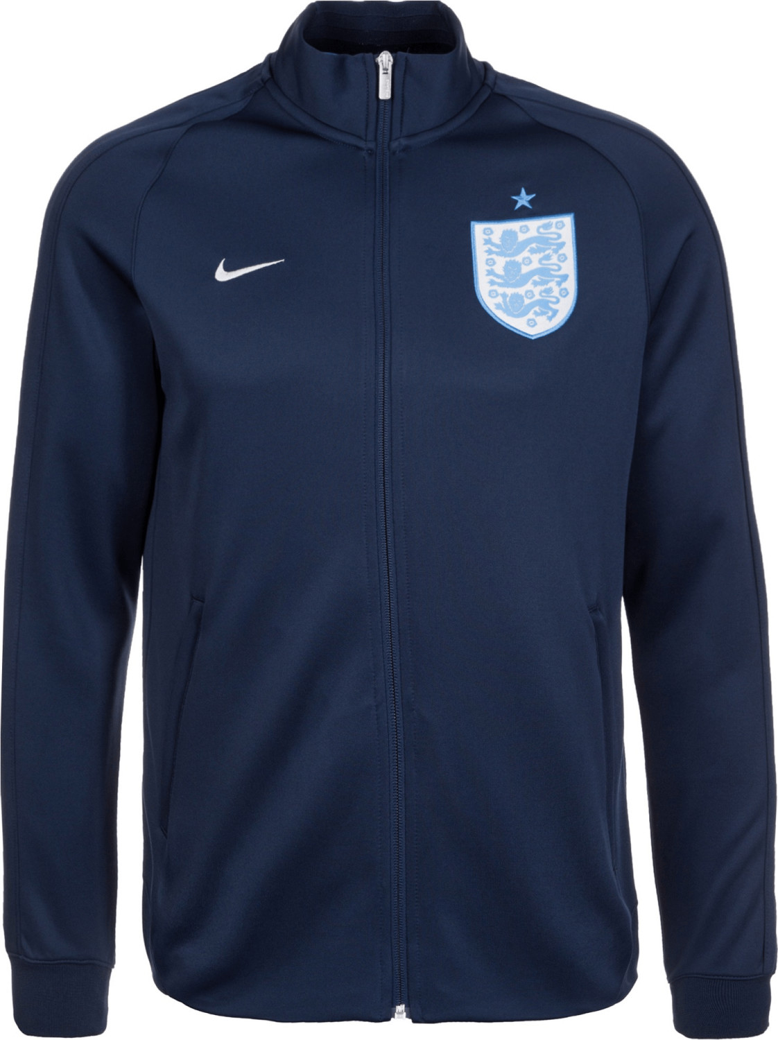 Nike England N98 Authentic Trainingsjacke blau