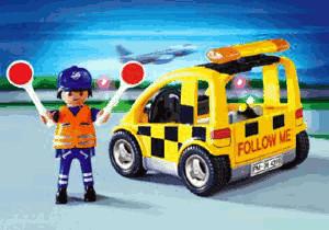 Playmobil Flughafen Follow-me-Fahrzeug (4319)