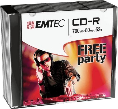 Emtec CD-R 700MB 52x (ECOC801052SL)