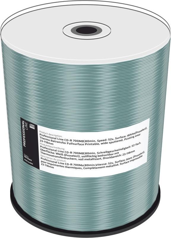 MediaRange CD-R 700MB 52x (MRPL503)