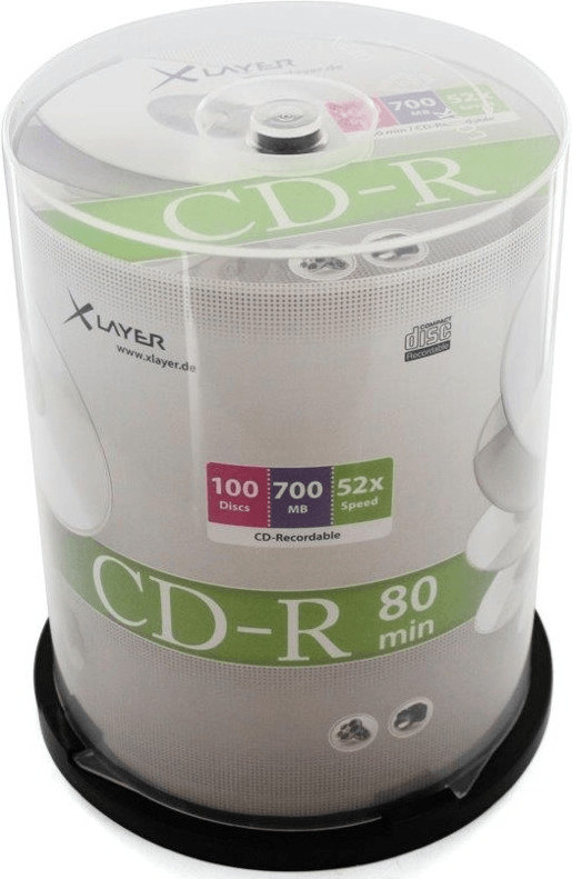 Xlayer CD-R 700MB 52x (206314)