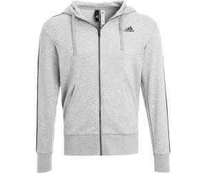Adidas Essentials 3 Streifen Kapuzenjacke Männer Athletics
