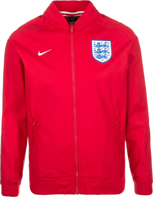 Nike England Authentic Varsity Jacke EM 2016
