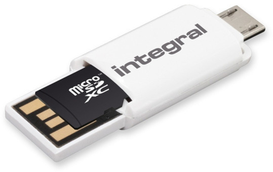 Image of Integral Smartphone and Tablet microSDHC Class 10 UHS-I U1 - 16GB (INMSDH16G10-SPOTG)