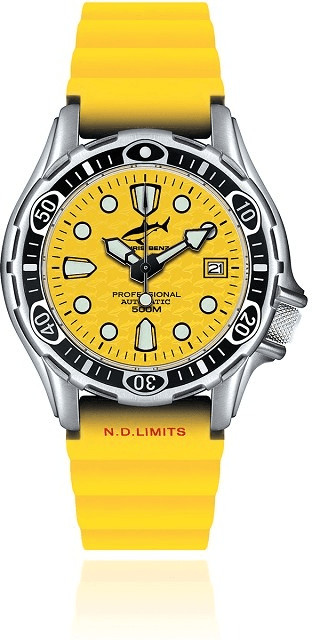 Chris Benz Deep 500M Automatic (CB-500A-Y-KBY)