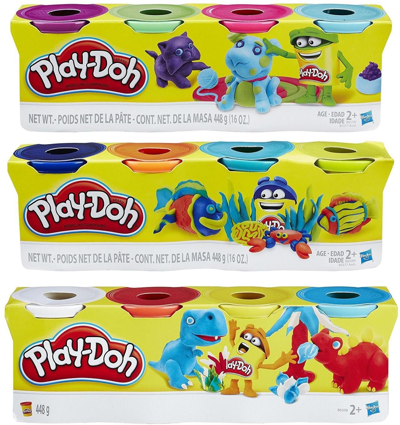 Play-Doh Kinderknete farblich sortiert