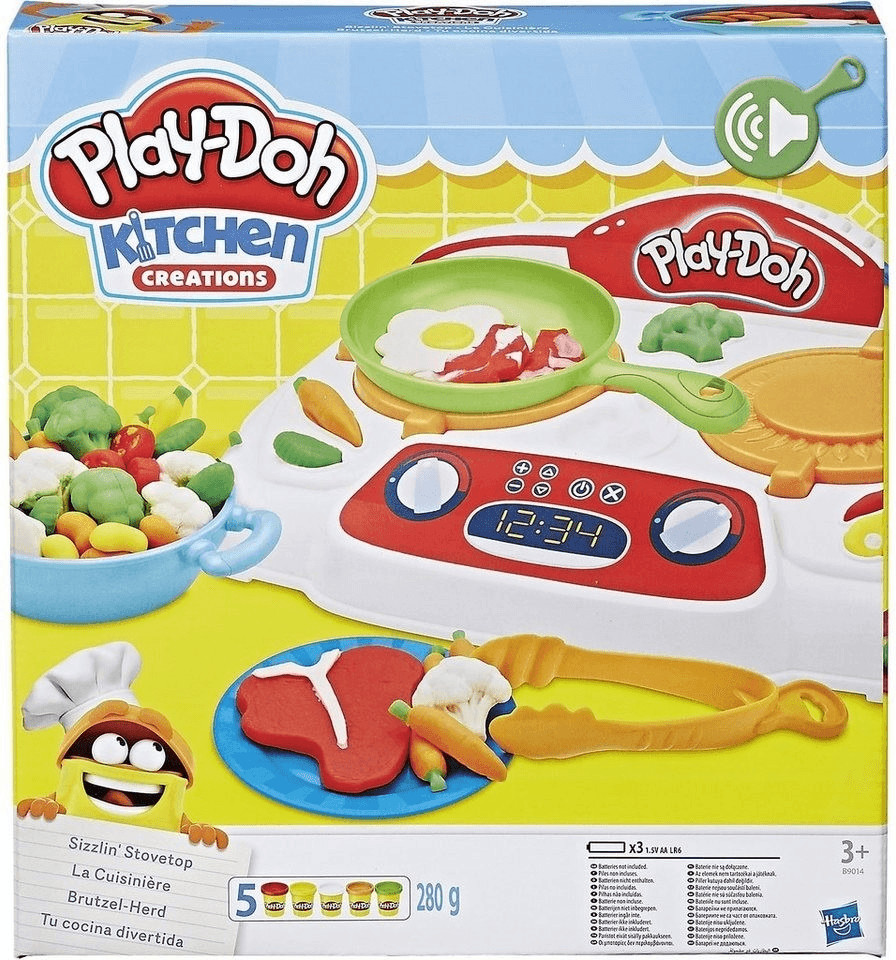 Play-Doh Kitchen Creations Brutzel-Herd