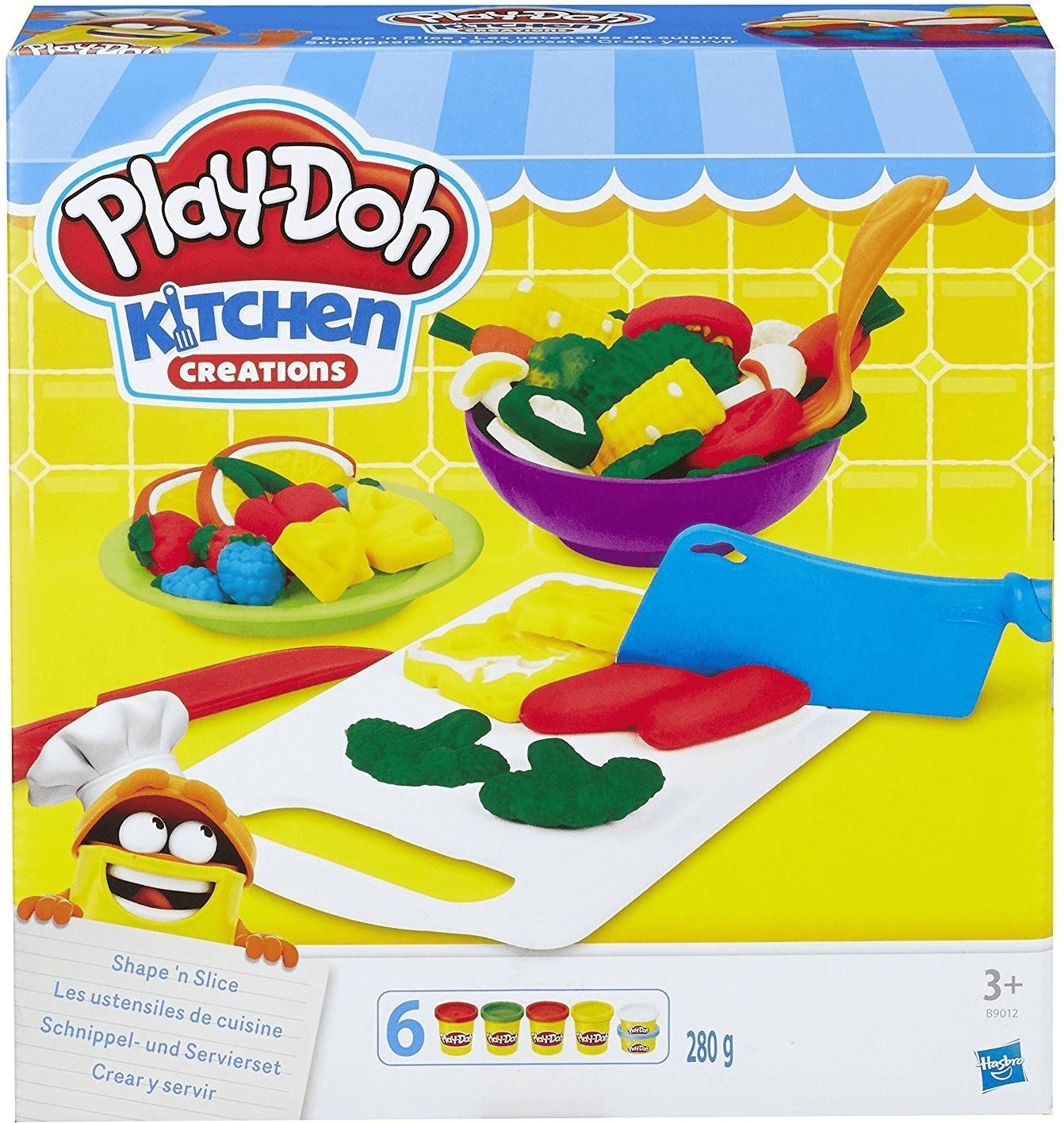 Play-Doh Kitchen Creations Schnippel und Servierset