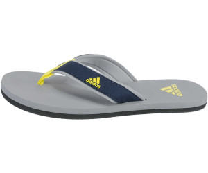 Adidas Beach Thong K grey/collegiate navy/bright yellow