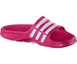 new product ab6bb c048e Adidas Duramo Slide K bold pinkwhitebold pink
