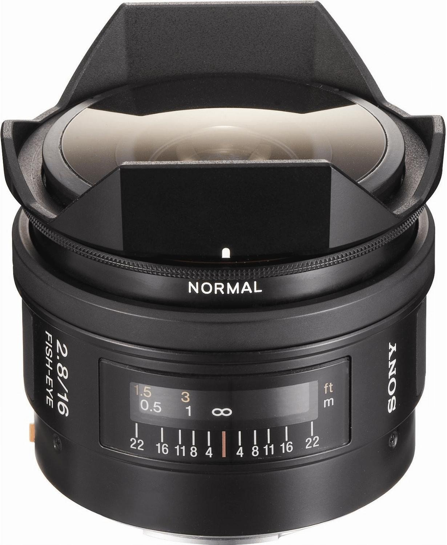 Sony 16 mm f2.8 Fischaugenobjektiv (SAL-16F28)