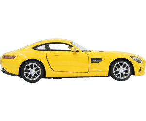 RC Mercedes AMG GT 1:14 gelb Tür fernbedienbar ferngesteuertes Modellauto 405069