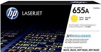 HP Nr. 655A gelb (CF452A)