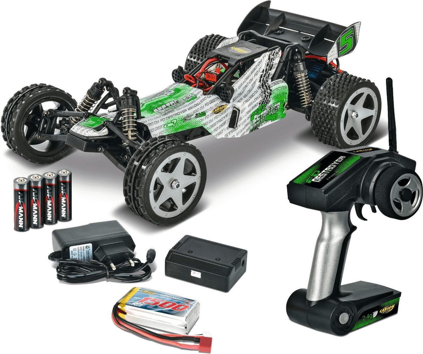 Carson FD Destroyer Buggy, RTR (04100)