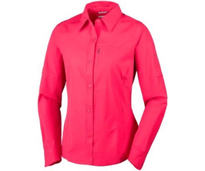 Columbia Silver Ridge LS Shirt Women (AL7079) red camellia