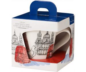 Becher mit Henkel London V/&B Cities Of The World Henkelbecher 0,3 New Wave