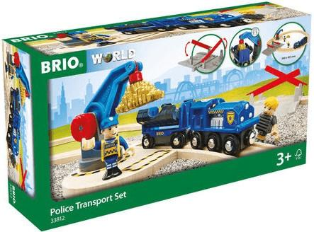 Brio World - Polizei Goldtransport-Set (33812)