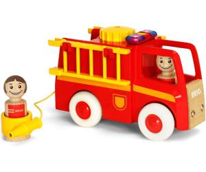 BRIO® Spielzeug Auto My Home Town Feuerwehrauto mit Licht