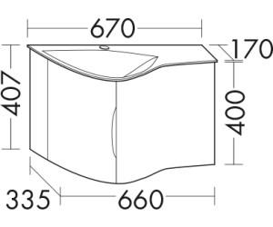 burgbad sinea 2 0 mineralguss waschtisch inkl unterschrank sfhb067 ab 787 84. Black Bedroom Furniture Sets. Home Design Ideas