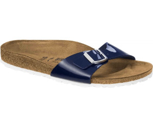 12f69c83293133 Birkenstock Madrid Birko-Flor dress blue white ab 39