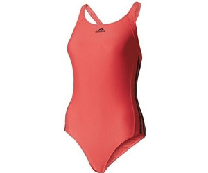 c7bb95ae9ec Buy Adidas Essence Core 3 Stripes Swimsuit from £17.90 – Best Deals ...
