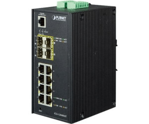 Planet 12-Port Gigabit Switch (IGS-12040MT)