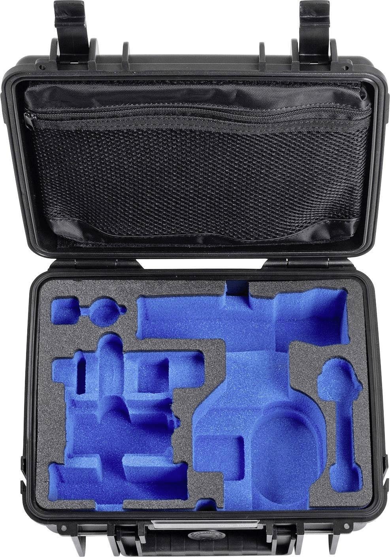 Image of B&W Outdoor Case Typ 1000 incl. DJI Osmo+ / DJI Osmo X3 Inlay Black