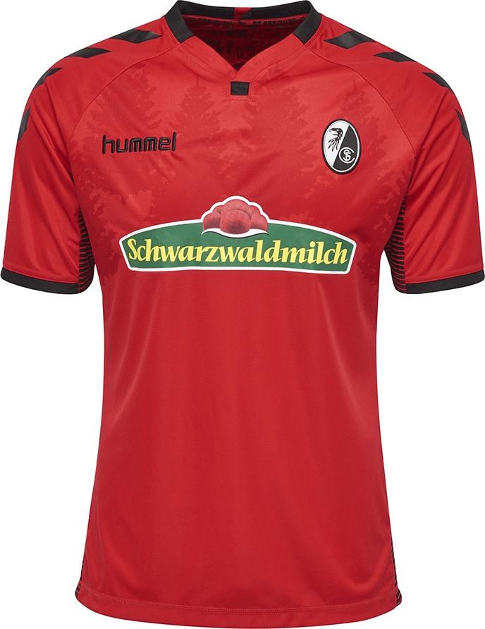 Hummel SC Freiburg Home Trikot Kinder 2017/2018