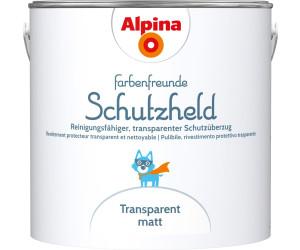 Alpina Farbenfreunde Schutzheld Transparent 2,5 L (914028) Ab 23,63