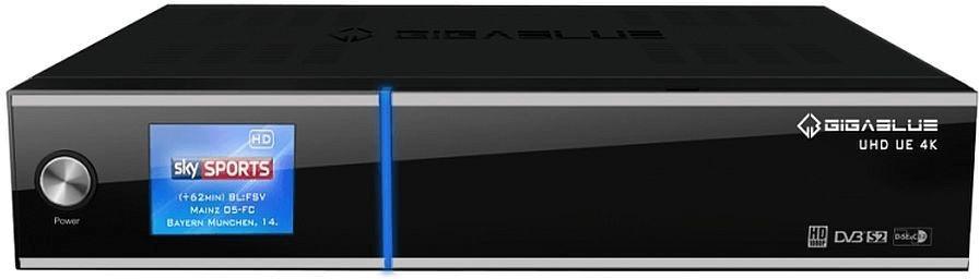 Image of GigaBlue UHD UE 4K 2xDVB-S2 FBC 1TB