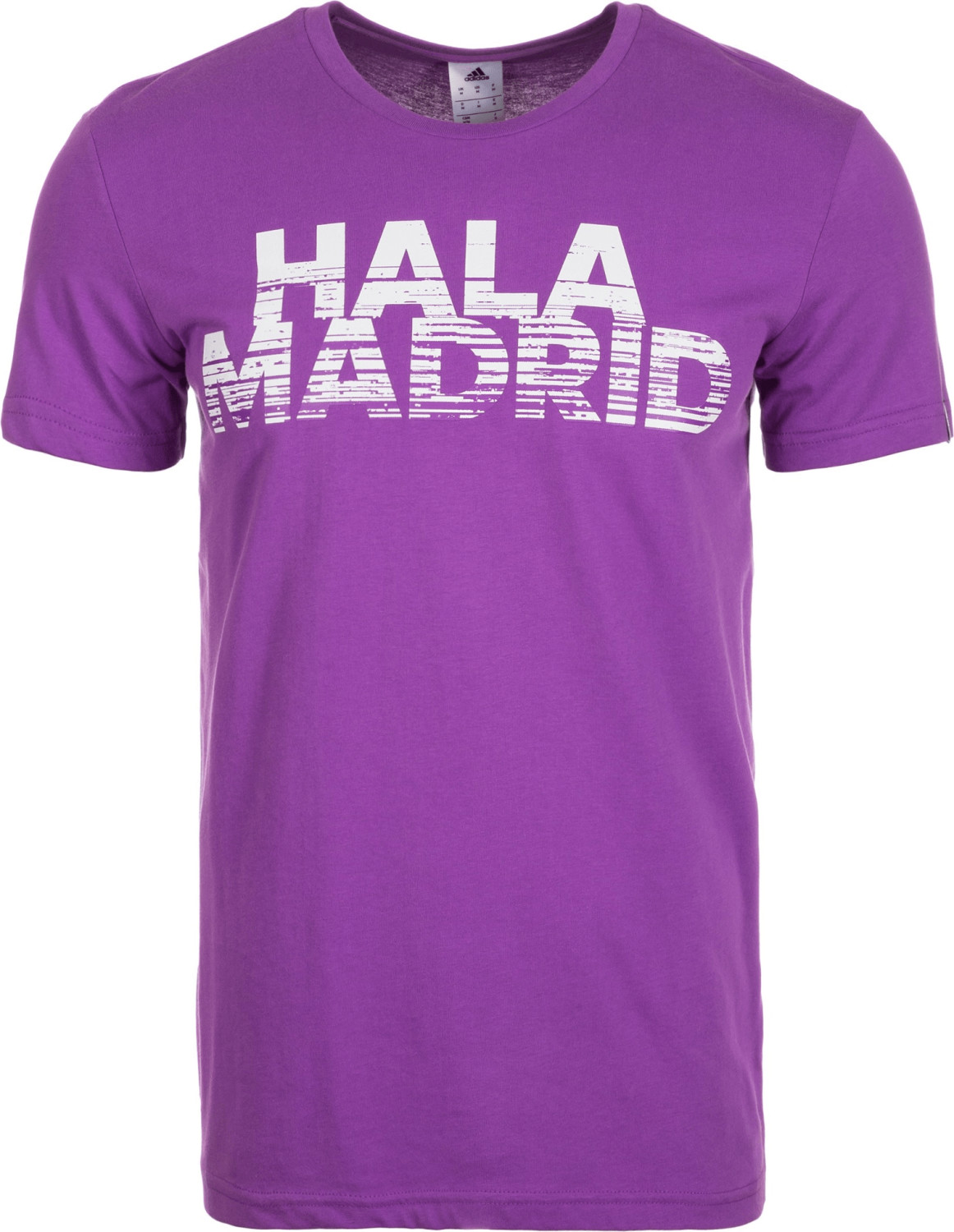 Adidas Real Madrid T-Shirt Hala Madrid Grafik lila