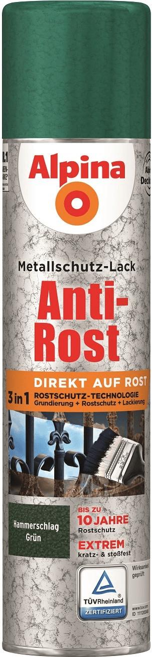 Alpina Sprühmetallschutz-Lack Anti-Rost 400 ml ...