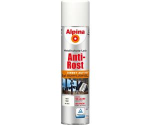 alpina spr hmetallschutz lack anti rost 400 ml matt weiss ab 9 77 preisvergleich bei. Black Bedroom Furniture Sets. Home Design Ideas