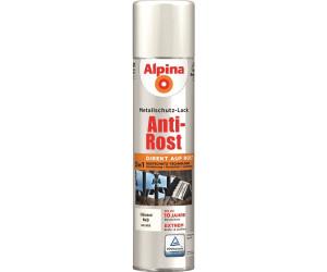 alpina spr hmetallschutz lack anti rost 400 ml gl nzend weiss ab 9 29 preisvergleich bei. Black Bedroom Furniture Sets. Home Design Ideas
