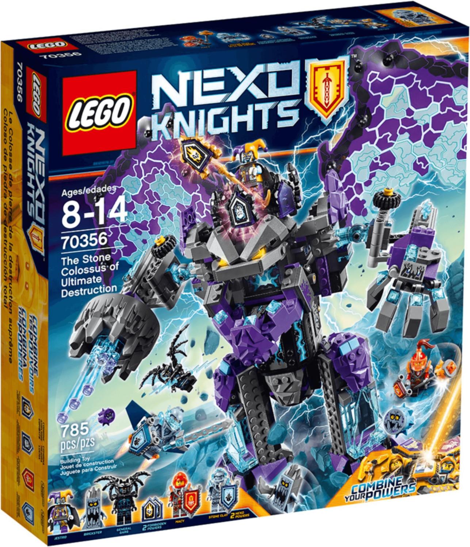 LEGO Nexo Knights - Le Colosse de pierre de la destruction suprême (70356)