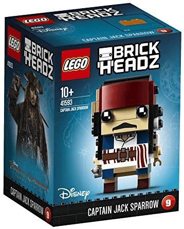 LEGO Brick Headz - Captain Jack Sparrow (41593)