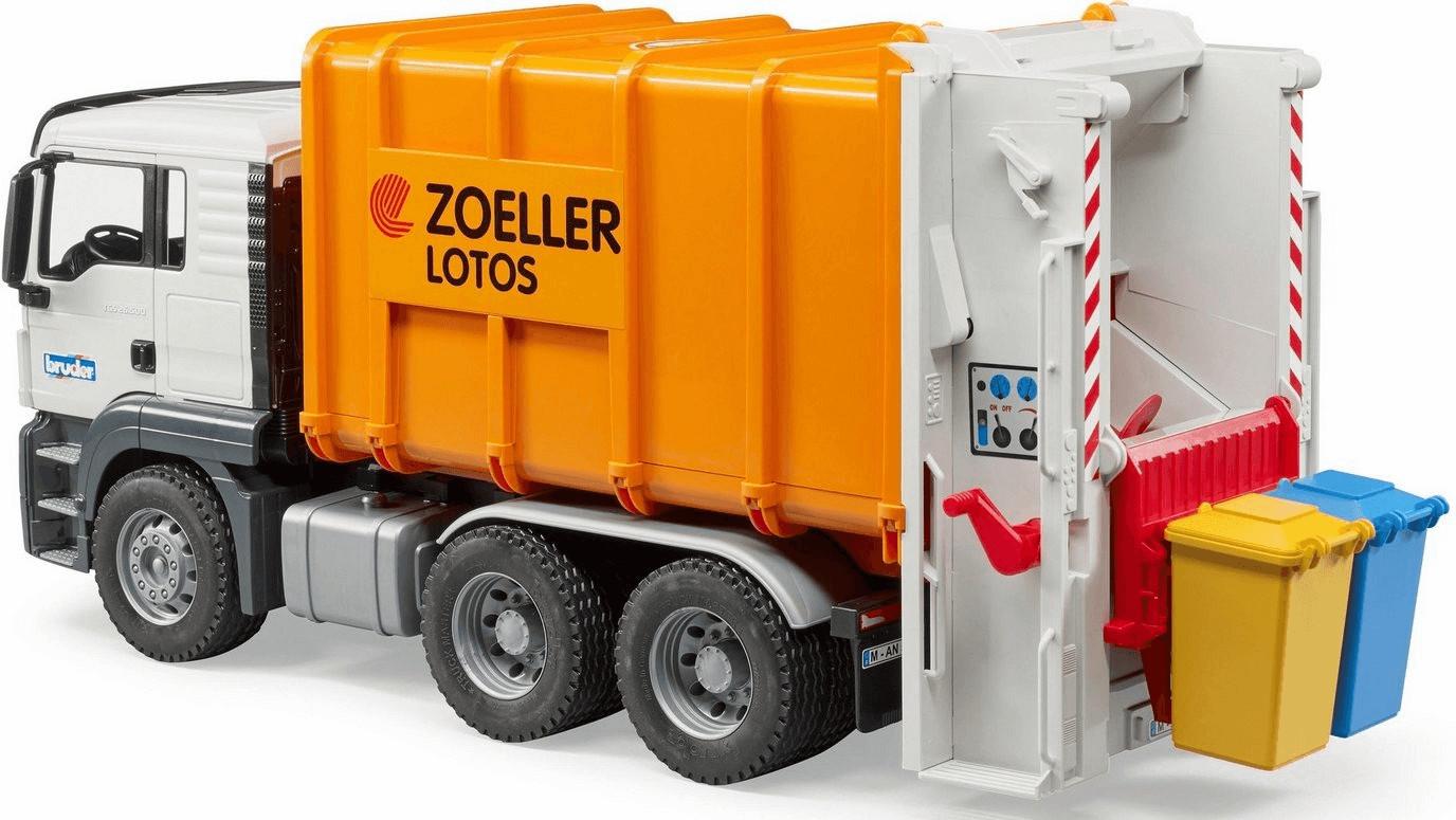 Bruder MAN TGS Hecklader Müll-LKW (03762)