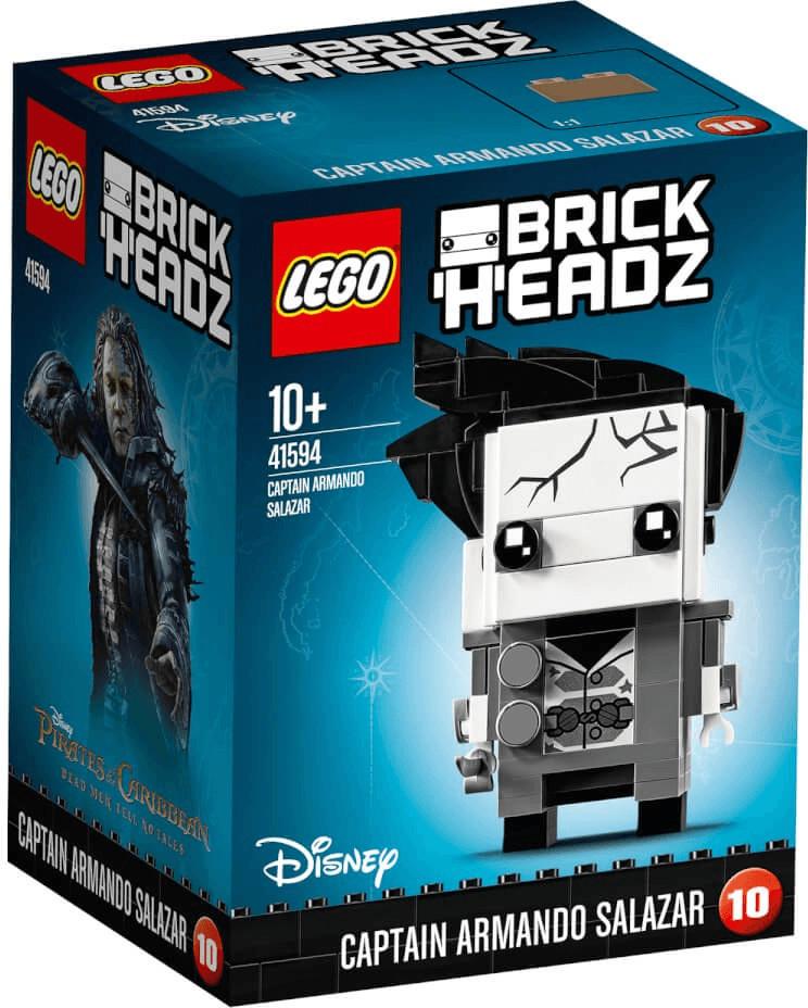 LEGO Brick Headz - Captain Armando Salazar (41594)