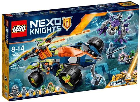 LEGO Nexo Knights - Aarons Klettermaxe (70355)
