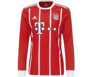 Adidas Fc Bayern München Home Trikot 20172018 Langarm Ab 3389