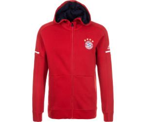 FC Bayern M/ünchen Softshelljacke Navy /Übergangsjacke mit Kapuze