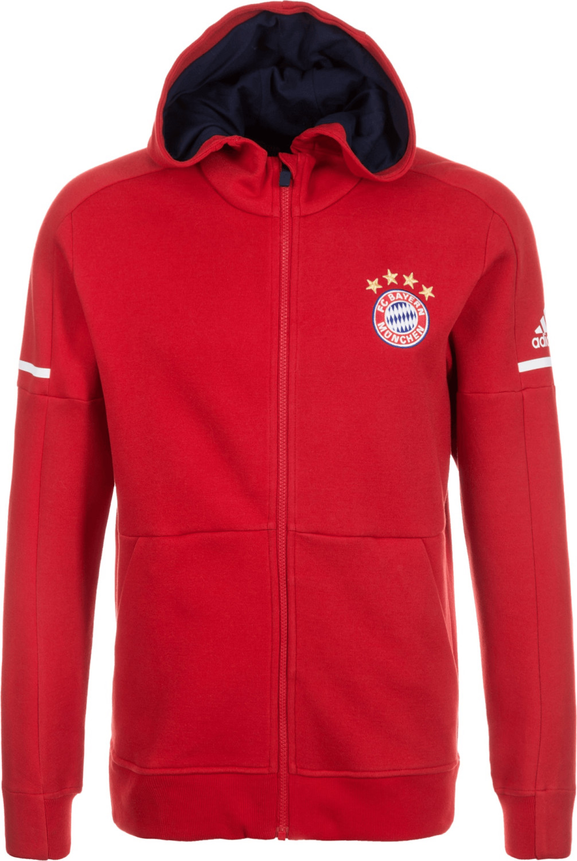 Adidas FC Bayern München Anthem Squad Kapuzenja...