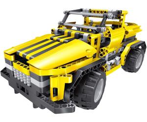 85000012 Teknotoys Bausteine RC 2in1 Pickup Truck /& Roadster mit Fernsteuerung