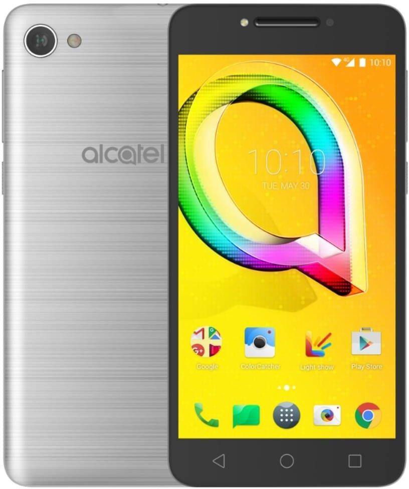 Image of Alcatel A5 LED argento gb
