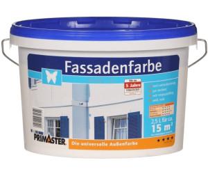 PRIMASTER Fassadenfarbe 25 l weiss