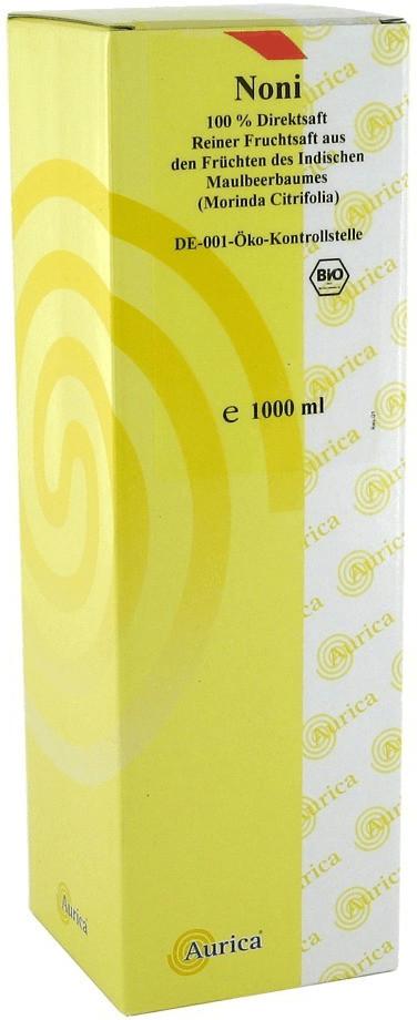 Aurica Noni-Fruchtsaft 100% Bio (1 l)