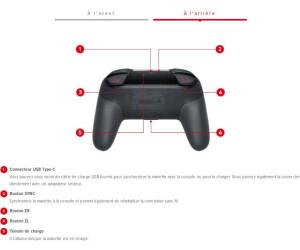 Nintendo Manette Switch Pro au meilleur prix | Juillet