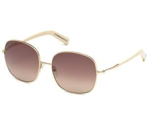 Tom Ford Damen Sonnenbrille »Georgina FT0499«, goldfarben, 28K - gold