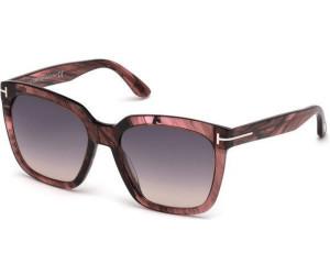 Tom Ford Damen Sonnenbrille »Amarra FT0502«, schwarz, 01T - schwarz/burgundy